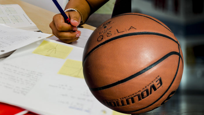 QSLA basketball math high school