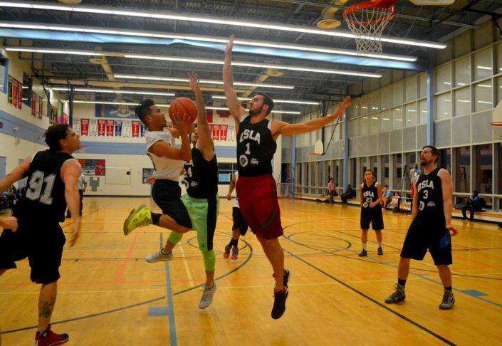 Co Ed Basketball QSLA Toronto