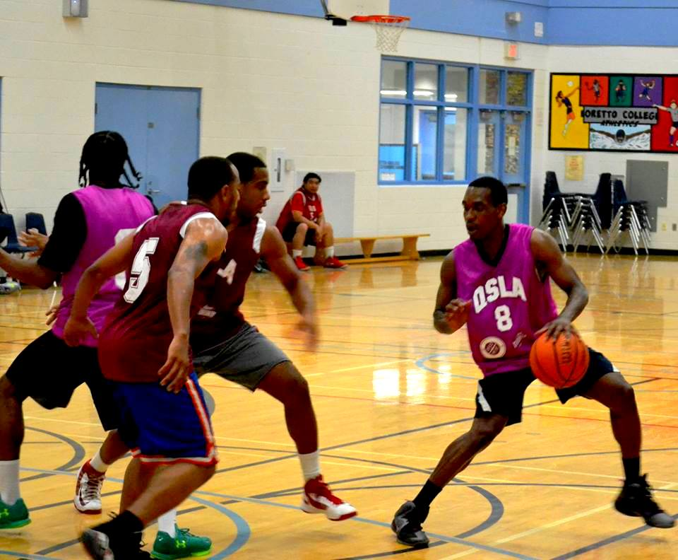 QSLA best co-ed basketball league toronto