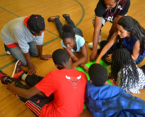 QSLA basketball math study Oakwood CI