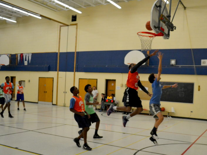 QSLA math basketball high school Oakwood