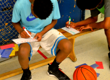 QSLA math basketball high school homework