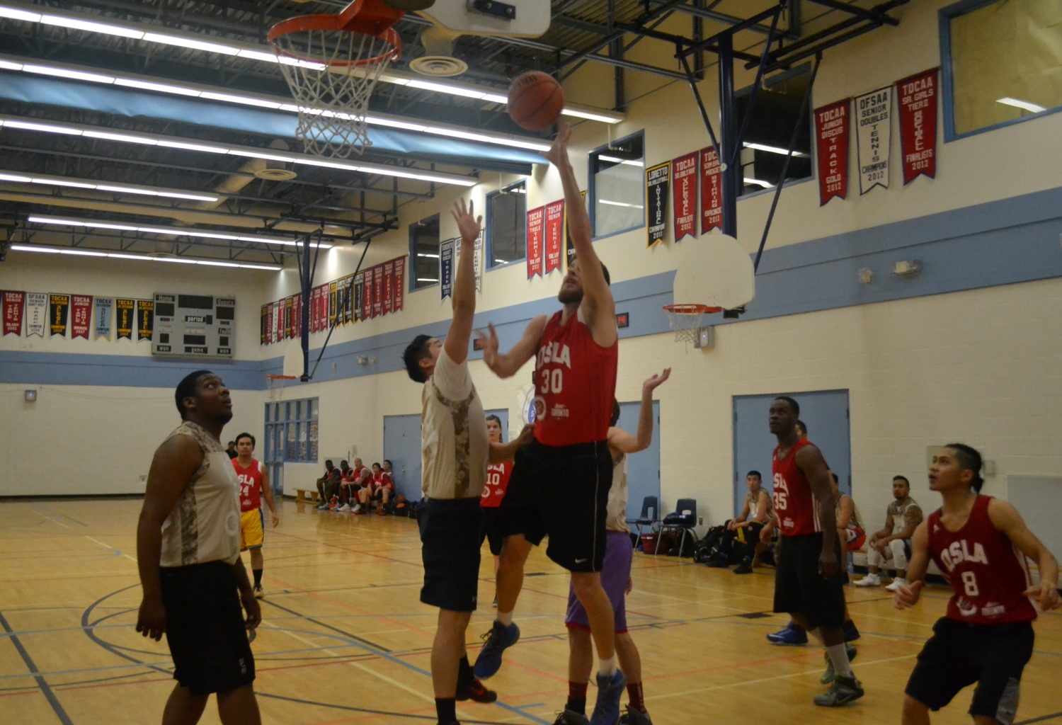 qsla coed basketball league Toronto 2k Raptors