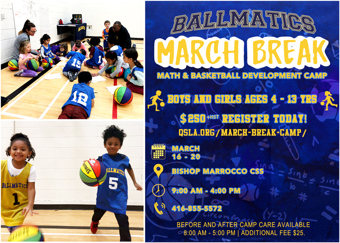 Register for the BallMatics March Break Basketball Camp Today!